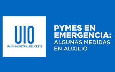PYMES EN EMERGENCIA: Algunas medidas de Auxilio