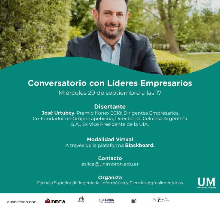 Conversatorio con Líderes Empresarios